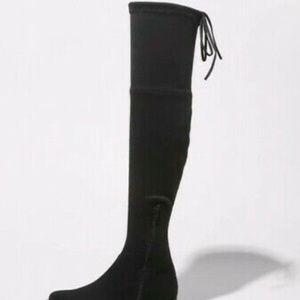A New Day Women's Black Over The Knee Boots s11